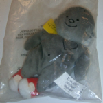 Bassett's Jelly Babies Bigheart plush beanie toy in baggie @SOLD@